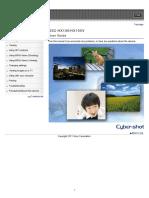 Dsc-hx100 Hx100v Guide En