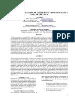 DISEÑO DE UNA CASA SOLAR INTELIGENTE Y ECOLOGICA
