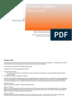 Process Audit Resources