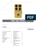 Tc Electronic Alter Ego Delay Manual Spanish