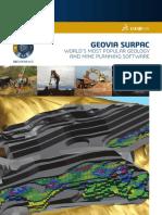 GEOVIA Surpac Brochure