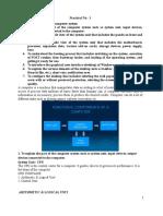 FCPIT Practical File