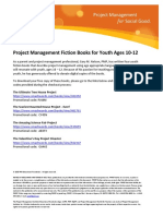 PMIEF Project Management Fiction Books for Youth Ages 10 12