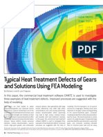Typical Heat Treatment Defects of Gears