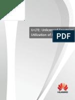 U-LTE-unlicensed Spectrum Utilization of LTE