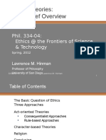 Ethical Theory Overview