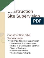Construction Site Supervision Handout (2)