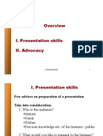 Presentation Advocacy Policy-Brief