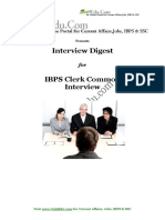 IBPS Clerk Int guide
