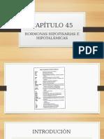 CAPÍTULO 45 Hormonas Hipofisarias