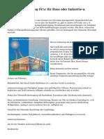 Struktur-Dämmung für Ihr Haus oder Industrie-u. Gewerbebau