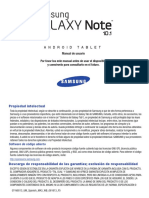 Generic GT-N8013 Galaxy Note JB Spanish User Manual MA3 F5