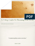 Productivityist Weekly Theming Guide PDF
