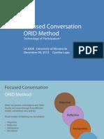 ORID Method