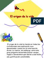 El origen de la vida 3ro elctivo.ppt