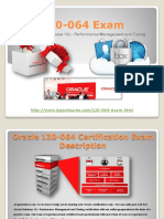 Oracle 1Z0-064 Certification Online Practice