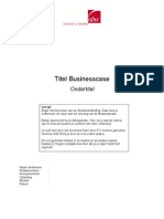 Format Business Case