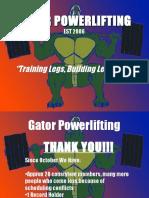 Gator Powerlifting