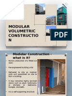 3d Volumetric Construction
