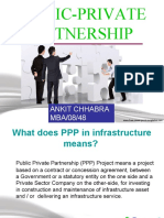 Public-Private Partnership (PPP) for infrastucture growth
