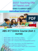 ABS 417 ASSIST Teaching Effectively/abs417assist.com