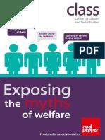2013 Exposing the Myths of Welfare