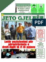 """""""Jeto Gjelbër"""" - Prill 2016"""