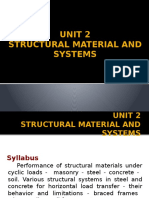 Structural Material and Systems