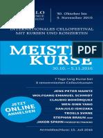 Flyer Meisterkurse 2016 Rutesheim