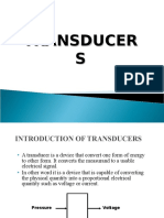 Transducers Lecture