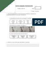 Evaluación Letras F, G, R, RR, B, J