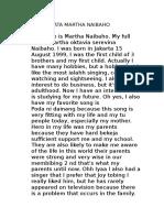 Biodata Martha Naibahoafw