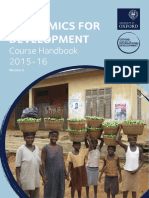 MSc ED Course Handbook 2015-16 Version2