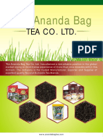 The Ananda Bag Tea Co. LTD. West Bengal India