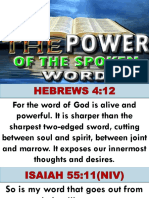 The Power of the Spoken Word by Bishop Wisdom030916