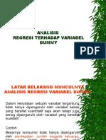 PPT ANALISIS-REGRESI-VARIABEL-DUMMY1.ppt