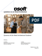 Dax for Retail Architecture