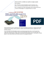 Embedded Systems and PLC