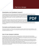 User Research Booklet