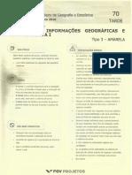 ProvaAmarelaTecnicoIBGE 2016