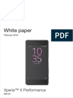 Xperia X Performance White Paper