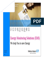 Energy Monitoring Solutions - Endress+Hauser