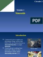 Module 1 - Sinusoids