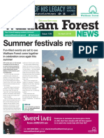 Waltham Forest News 18th April 2016
