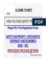 High Voltage Safety Course Handout CD 1
