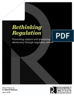 Rethinking Regulation