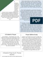 Christian Students Prayers