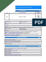 Ficha de Informação de Produto Químico
