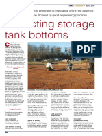 Tank Storage Magazine - Protecting Storage Tank Bottoms - March 2009
