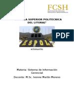Proyecto Sistema de Informacion Gerencial - ESPOL